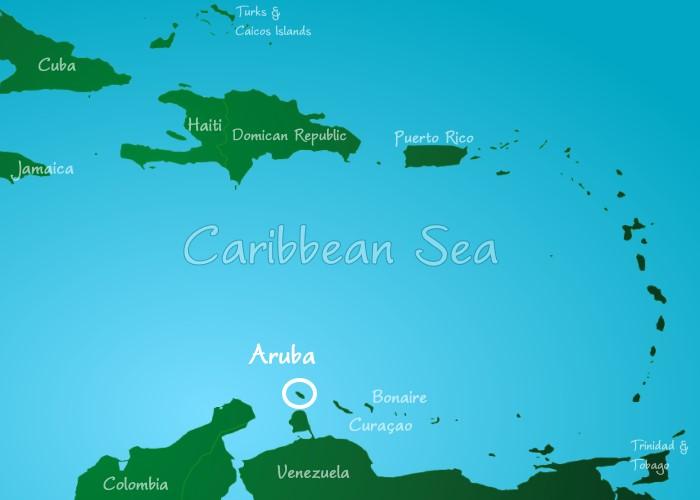 Waar Ligt Aruba Een Caribische Eiland Onderdeel Van De Abc Eilanden