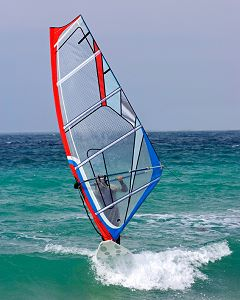 Learn to windsurf!