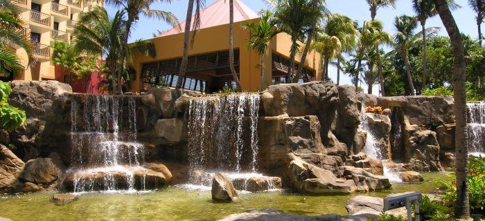 5 sterren hotel - de imposante tuin