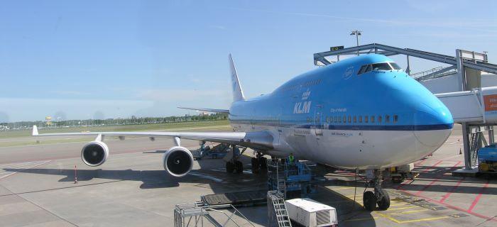 KLM vliegt naar Aruba met een Boeing 747