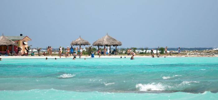 Baby Beach is erg populair en bekend