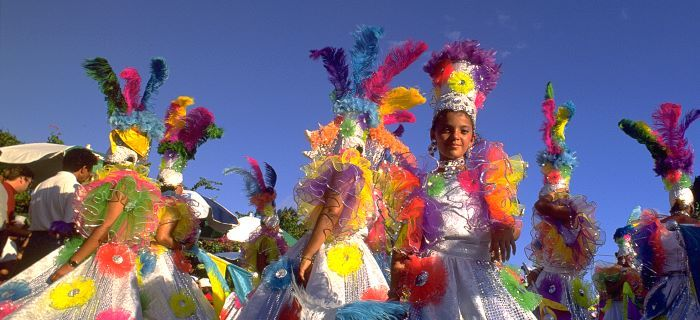 Een belangrijke culturele festiviteit op Aruba is Carnaval