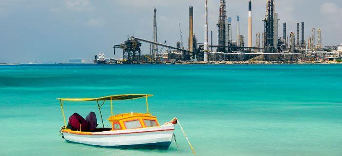 Economie niet meer afhankelijk van de olieraffinaderij