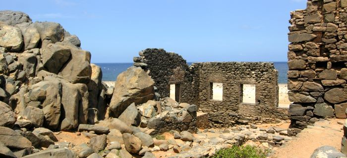 Restanten/Ruïnes goudsmeleterij - Een onderdeel van Aruba's geschiedenis