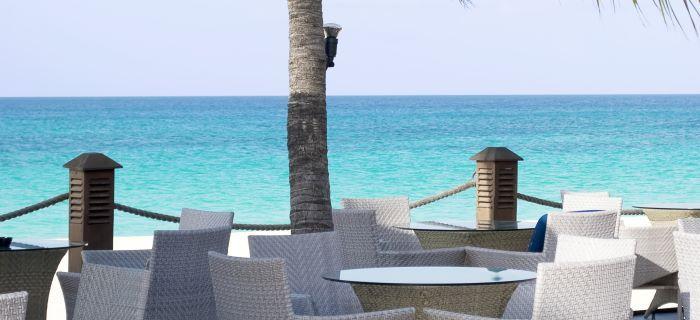 Restaurant aan het strand Druif Beach